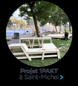 Le projet 1PAKT voit le jour dans Saint-Michel